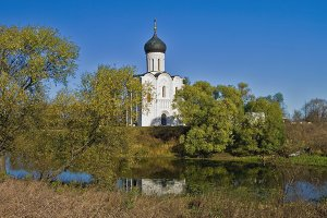 Church of Intercession on  Nerl
