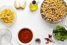 Ingredients for Cooking Vegetarian