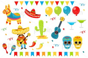 Mexican Party Elements