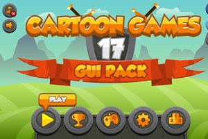 Cartoon Games GUI Pack 17