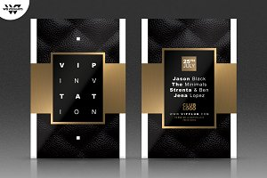 VIP GOLD CLASSY Flyer Template