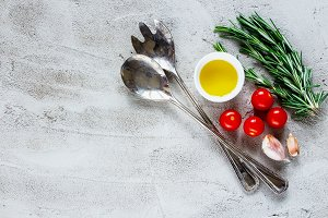 Organic vegetables ingredients