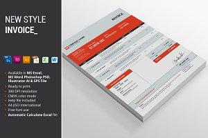 New Style Invoice