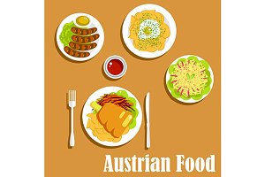 Nutritious austrian dishes