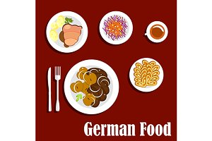 Popular national german cuisine