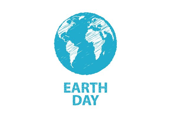 Vector illustration of the Earth Day