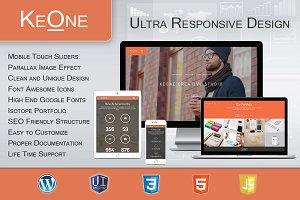 KeOne - Ultra Responsive WP Theme