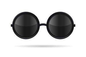 Sunglasses with Black Glasses