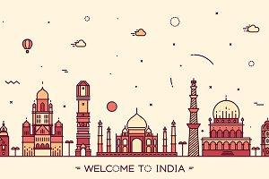 Skyline of India