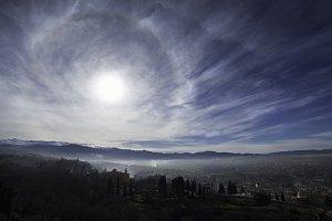 Sky over Granada