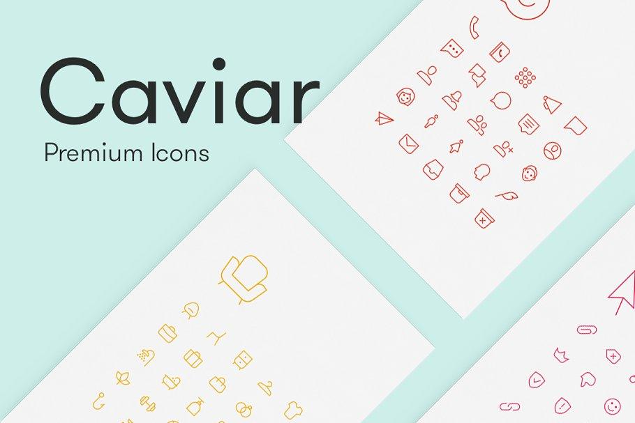 Caviar - Premium Icons ~ Icons ~ Creative Market