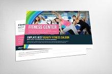 Fitness Health Club Postcard