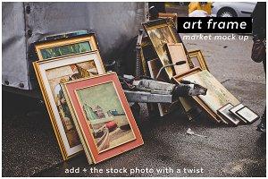add + artframe 3 market mockup
