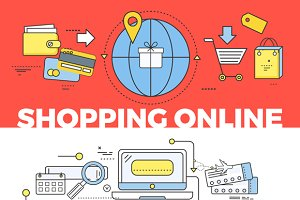 Shopping and Tickets Online