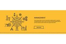 Management Concept Poster