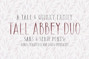 Tall Abbey Bundle | Logos + Elements