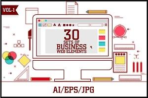 Business Web Element Vol - 1