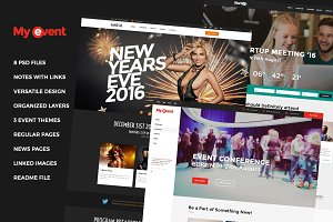 MyEvent - Event Bundle PSD