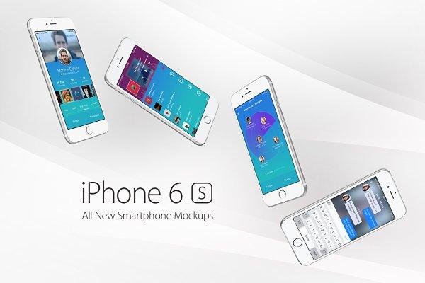 iPhone 6s Mockups
