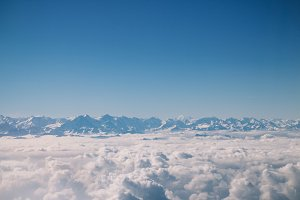 above the clouds no.1