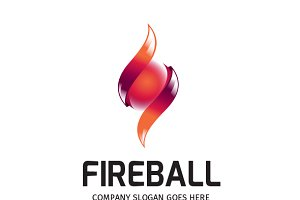 Fire Ball Logo