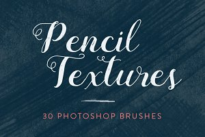 Pencil Texture Photoshop Brushes