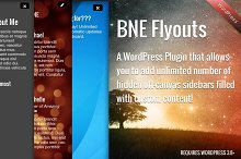 Flyout Custom Content for WordPress by  in Plugins