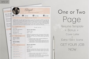 40% OFF Resume Template