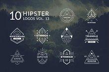 10 Hipster Logos Vol. 13