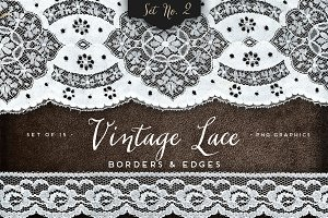 Vintage Lace Borders & Edges 2