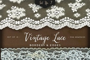 Vintage Lace Borders & Edges 3