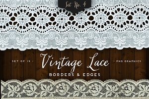 Vintage Lace Borders & Edges 4