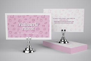 Patisserie Business Card