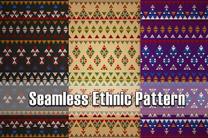 3 Seamless Ethnic Patterns