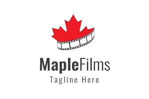 Maple Films Logo Template