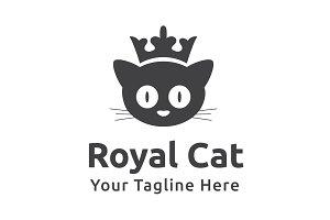 Royal Cat Logo Template