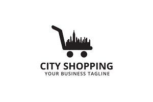 City Shopping Logo Template