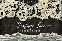 Vintage Lace Borders & Edges 6