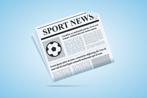 Sport News Newspaper.