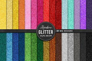 Glitter Textures Big Bundle