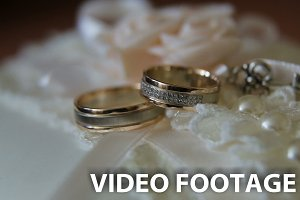 Two wedding rings.