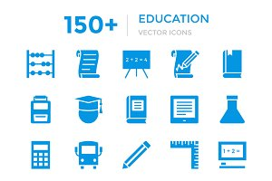 150+ Education Vector Icons