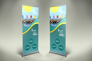 Travel Roll-Up Banner - SK
