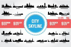 Skyline European Cities