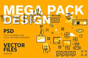 Web Banners Mega Pack