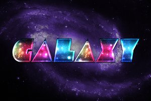 Galactic Photoshop Layer Styles