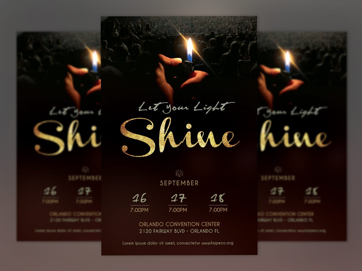 shine church flyer poster photoshop flyer templates on creative shine church flyer poster photoshop flyer templates on creative market