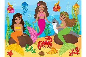 African American Mermaids