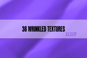 36 Wrinkled Textures