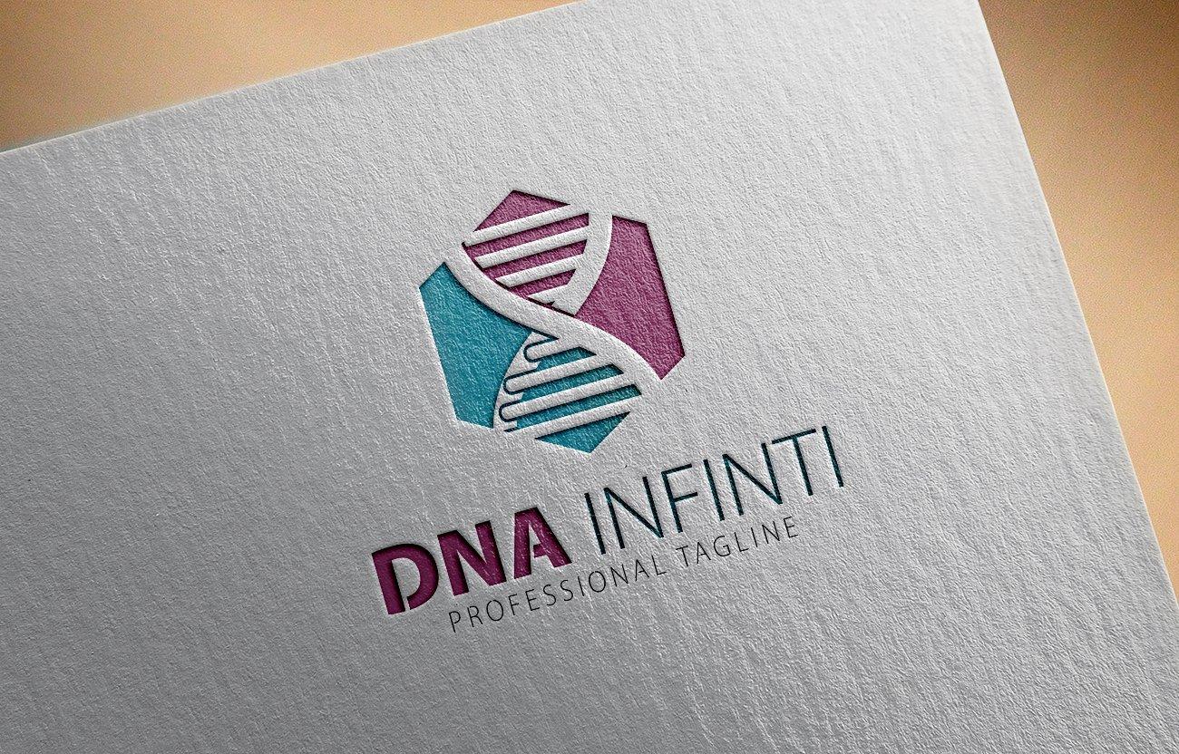 Dna Center X Letter Logo ~ Logo Templates ~ Creative Market